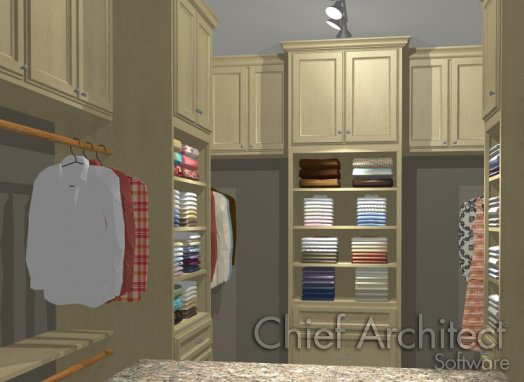 I Would Like To Design The Storage In My Walk In Closet. How Can I Do This?