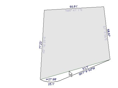 Drawing a plot plan for Plot plan drawing software