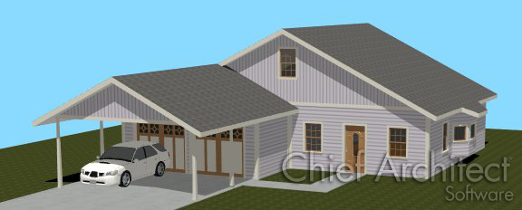 i need to create a carport how can i create that in home designer